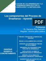 Los Componentes Del Proceso de Ensenanaza - Aprendizaje (1)