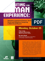 Computing for Human Experience
