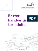 Better Handwriting for Adults 2