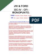 Inyeccion Eec-IV - Cfi - Monopunto