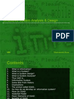 Structured System Analysis & Design