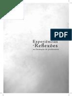 Livro - Experiencias e Reflexoes. Prodocencia 2012