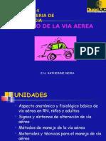 14. Manejo via Aerea