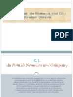 TiO2 Financial | Titanium Dioxide | Du Pont