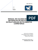 Manual de Calidad de Los Materiales SCT