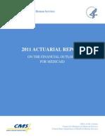 CaidActuarial Report 2011