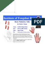Basic Palmistry Talk by Master Chuan-SAFRA MF