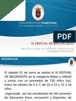 Informe Festival 2013