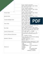 Formula Flashcard File