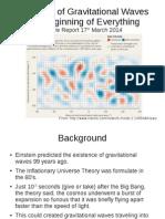 Gravitational Waves 2014