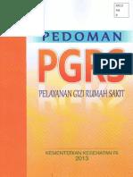 Pedoman PGRS 2013