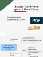 IBON- Budget 2010 (notes) 0909-17(2)