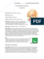 Pakistan - Country Profile - Library of Congress