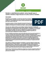 Informe Oxfam 2014