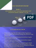 Bab 6 Keseimbangan Dalam Model ISLM A112