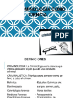 EXPOSICIÓN DE CRIMINOLOGÍA