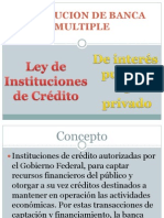 Institucion de Banca Multiple