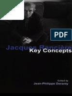 Deranty, Ed-Jacques Ranciere. Key Concepts