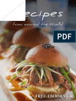 Food Recipes From Around the World