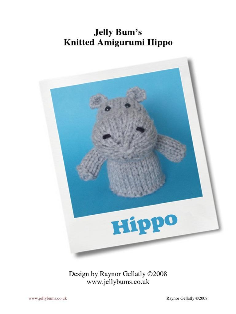 Amigurumi Pattern: Baby Kit - Hippo Melman - Tarturumies | 1024x768