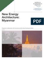 WEF en NewEnergyArchitecture Myanmar 2013