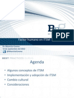 Factor Humano ITSM MauricioCorona2