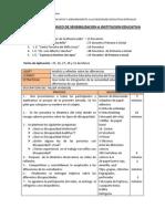 DISEÑO METODOLÓGICO DE SENSIBILIZACION A INSTITUCION EDUCATIVAs
