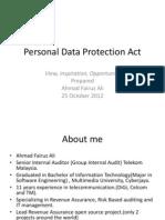 Data Protection Act by AhmadFairuzAli