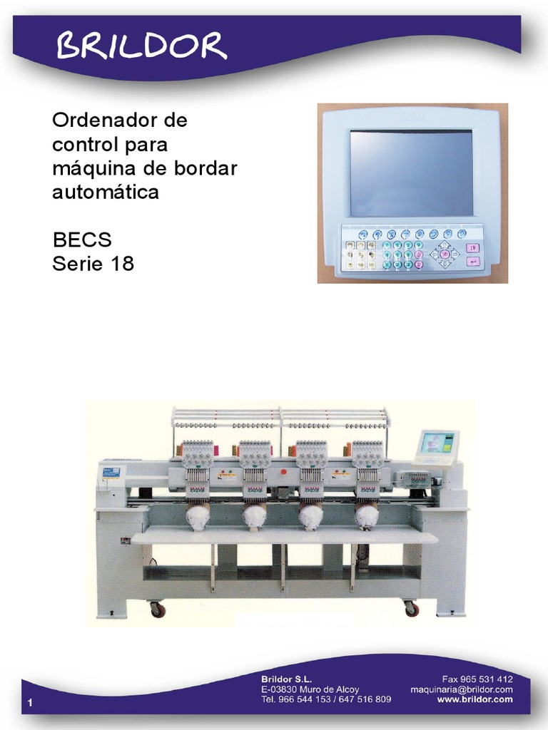Feiya CT-Manual Del Ordenador BECS18-Castellano