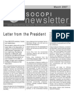 Asocopi Newsletter March 2007