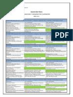 Asignaturas y Seminarios Por Cuat 2014 1o y 2o Ref 1o Version1