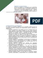 RELACIÓN DE LA DIABETES Y LA SALUD BUCAL