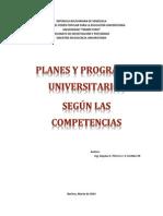 Adaptar Los Planes Y Programas Según Las Competencias