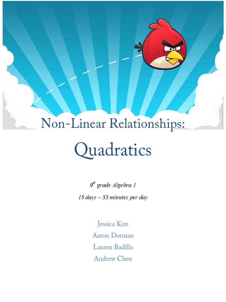 Quadratic Unit Quadratic Equation