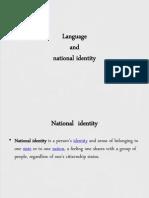 Language and National Identity