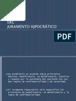 ANÁLISIS JURAMENTO HIPOCRÁTICO