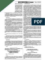 Reglamento Registro Instaladores GN