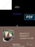 Novolet Launch Plan