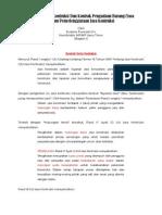 Kontrak Kerja Kontruksi Berbeda Dengan Kontrak Pengadaan Barang Bag i
