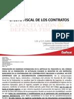 1) Efecto Fiscal de Los Contratos (La Paz-los Cabps 2012)