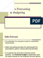 forecasting sales