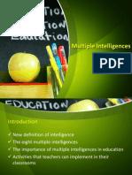 Multiple Intelligences (Last)