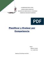 Planificar y Evaluar Por Competencia (Gilberto Linares)
