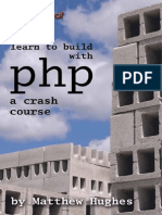 Learn to build with PHP