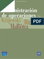 Administración de Operaciones - 8va Edición - Krajewski, Ritzman, Malhotra
