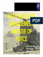 Use of Force & Nato Roe
