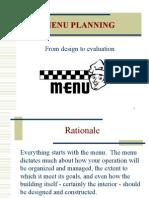 Planning Menu