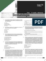 Test de Dermatología - Preguntas