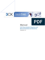 3CX Phone System Integration With Microsoft Outlook and Salesforce Version
