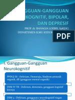 Gangguan-gangguan Neurokognitif, Bipolar, Dan Depresif